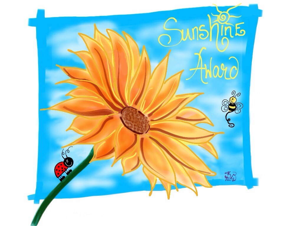 Sunshine Award (by Lil' Girl Art)